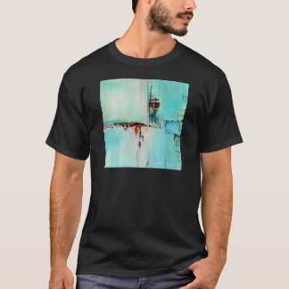 T-shirt Elle-abstract-026-2424-Original-Abstract-Art-Off-S
