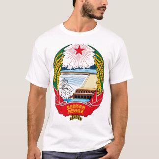 T-shirt emblème du nord de la Corée
