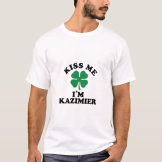 T-shirt Embrassez-moi, Im KAZIMIER