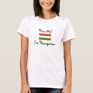T-shirt Embrassez-moi ! Je suis hongrois