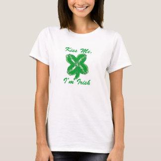 T-shirt Embrassez-moi, je suis Jour de la Saint Patrick