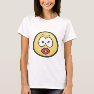 T-shirt Emoji : Baisers du visage