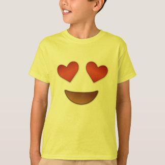 T-shirt Emoji chaleureux de yeux