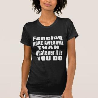 T-shirt En clôturant plus impressionnant que celui qui il