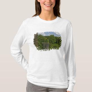 T-shirt En Irlande, au château de cajolerie une tour en