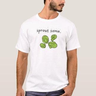 T-shirt en poussez. (Choux de bruxelles)
