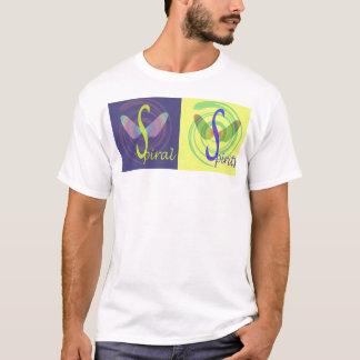 T-shirt en spirale 1 de spiritueux