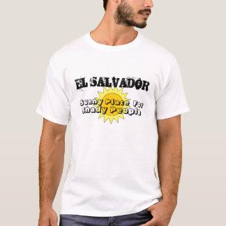 T-shirt Endroit ensoleillé, pour, personnes louches,