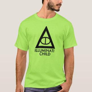 T-shirt enfant d'illuminati
