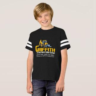 T-shirt ENFANTS de Griffith Constructioin (appui de