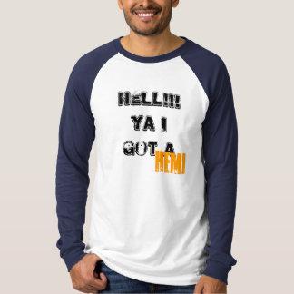 T-shirt ENFER ! ! ! Ya I a obtenu a, HEMI - customisé