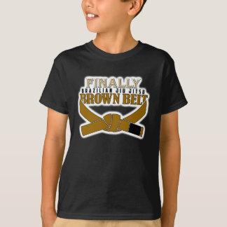 T-shirt Enfin ceinture de BJJ Brown ! ! !