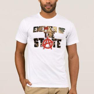 T-shirt ennemi de la révolution française d'état