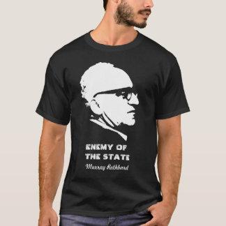 T-shirt Ennemi de Murray Rothbard de l'état