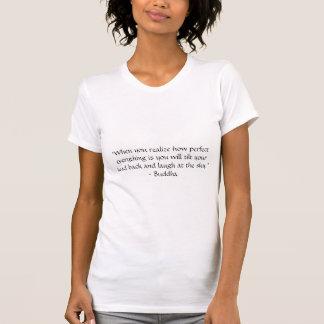 T-shirt Énonciations de Bouddha