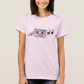 T-shirt Enregistreur à cassettes mignon