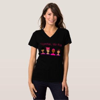 T-shirt Ensemble, nous nous levons - RÉSISTEZ !