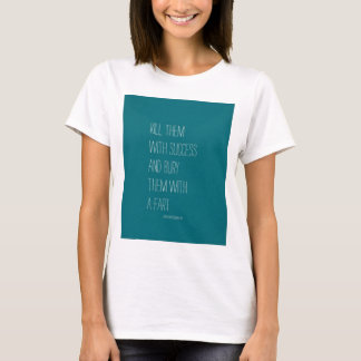 T-shirt Enterrez-les avec un pet