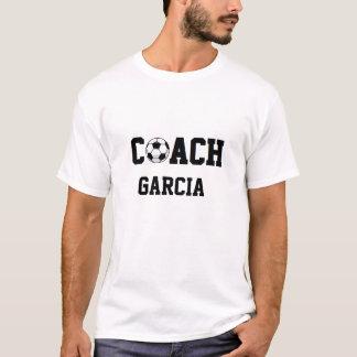 T-shirt Entraîneur du football personnalisé