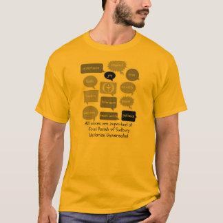 T-shirt entrée 2 - fps parlants B&W de bout