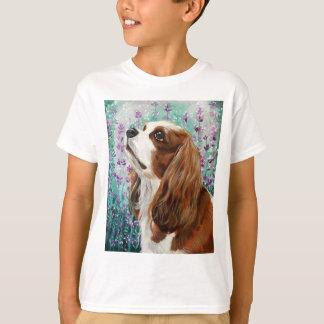 T-shirt Épagneul cavalier du Roi Charles de Blenheim