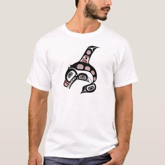 T-shirt Épaulard du nord-ouest d'art de Haida de Côte