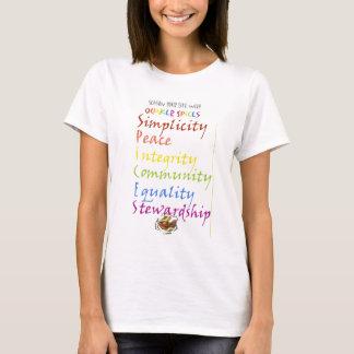 T-shirt Épices de quaker