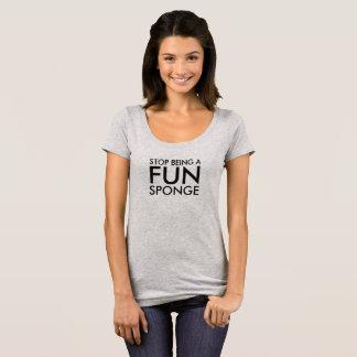 T-shirt Éponge d'amusement