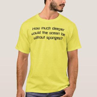 T-shirt Éponges ?