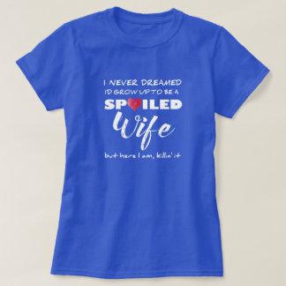 T-shirt Épouse corrompue - quelle chemise d'amusement
