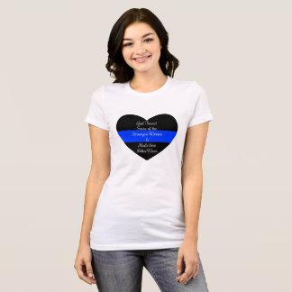 T-shirt Épouses de police