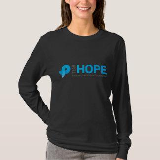 T-shirt Éprouvant un marathon - espoir d'équipe