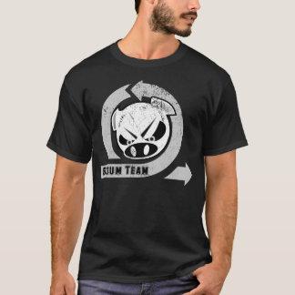 T-shirt Équipe de bousculade - agile avec le porc sérieux