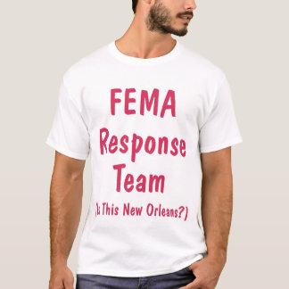 T-shirt Équipe de réponse de FEMA, chemise