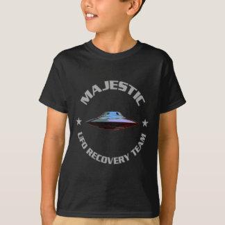 T-shirt Équipe majestueuse de récupération d'UFO de