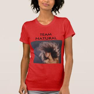 T-shirt Équipe naturelle
