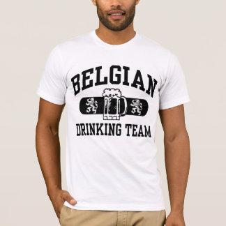T-shirt Équipe potable belge