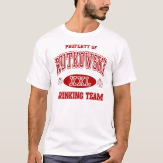 T-shirt Équipe potable de polonais de Rutkowski