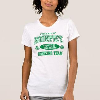 T-shirt Équipe potable irlandaise mignonne de Murphy