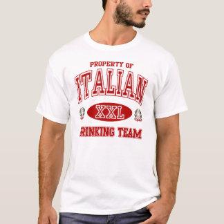 T-shirt Équipe potable italienne