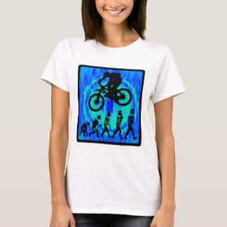 T-shirt Équitation d'âme de vélo