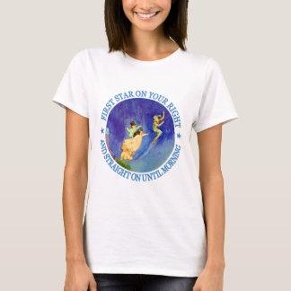 T-shirt ęr ÉTOILE SUR VOTRE DROITE, TOUT DROIT JUSQU'au