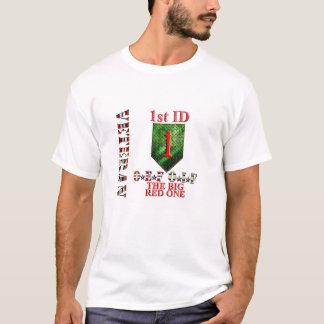 T-shirt ęr VÉTÉRAN de la Division d'infanterie OEF OIF
