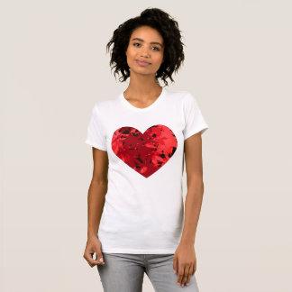 T-shirt Érable japonais de coeur de coeur
