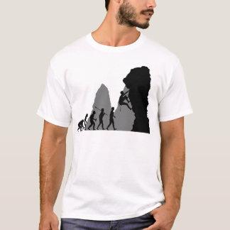 T-shirt Escalade de roche