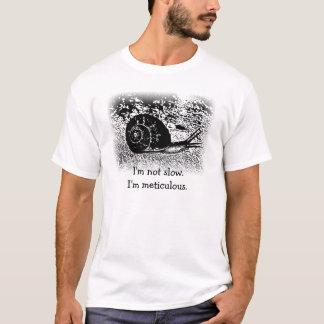 T-shirt Escargot en noir et blanc
