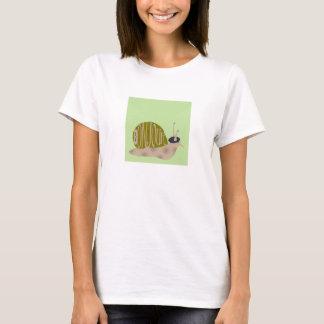 T-shirt Escargot français dans le béret indiquant le tee -