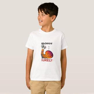 T-shirt Escargot Lent Mais Sûrement