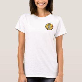 T-shirt escroc de la couleur des femmes de