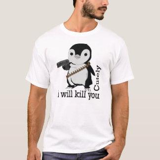 T-shirt escroc de pingouin